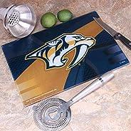 "Memory Company NHL Nashville Predators 8"" X 11.75"" Carbon Fiber Cutting Board, One Size,"