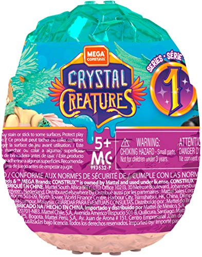 Mega Construx Crystal Creatures, Styles May Vary ()