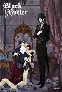 Black Butler Sebastian And Ciel Anime Poster 6096 X 9144 Cm