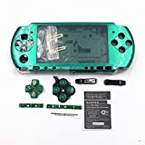 Full Shell Housing Case Cover with Buttons Kit Set For Sony PSP3000 PSP 3000 3001 3002 3003 3004 Series Replacement - Green