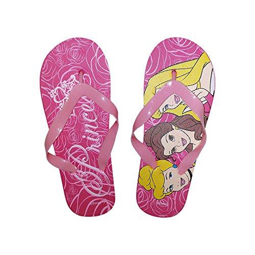 2301000545 - Tong - Sandale Fille Disney Princesses en caoutchouc rose - 30