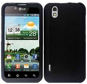 Black Hard Case Cover for LG Optimus Black P970