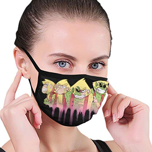 GNonBcalvAes Unisex Anti Dust Fools Gold Whole Bunch Of Sips Masks Cool Face Mouth Mask For Kids Teens Men Women