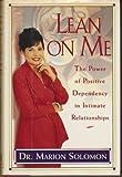 Lean on Me, Marion Solomon, 0671870106