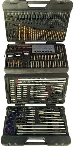 Silverline Assorted Drill Bit Set 204pce