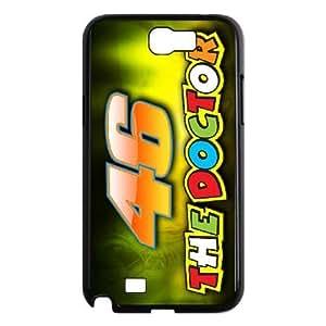 Samsung Galaxy Note 2 N7100 Phone Case Black Valentino Rossi HCM103606