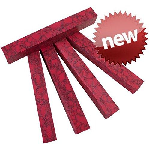 (SimStone - 07 Red Jasper Pen Blank 3/4