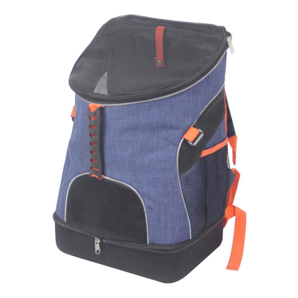 NIANXINAN Foldable Waterproof Breathable Travel Pet Rucksack Puppy Cat Backpack