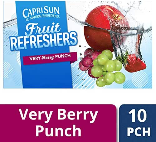 Juice Boxes: Capri Sun Fruit Refreshers