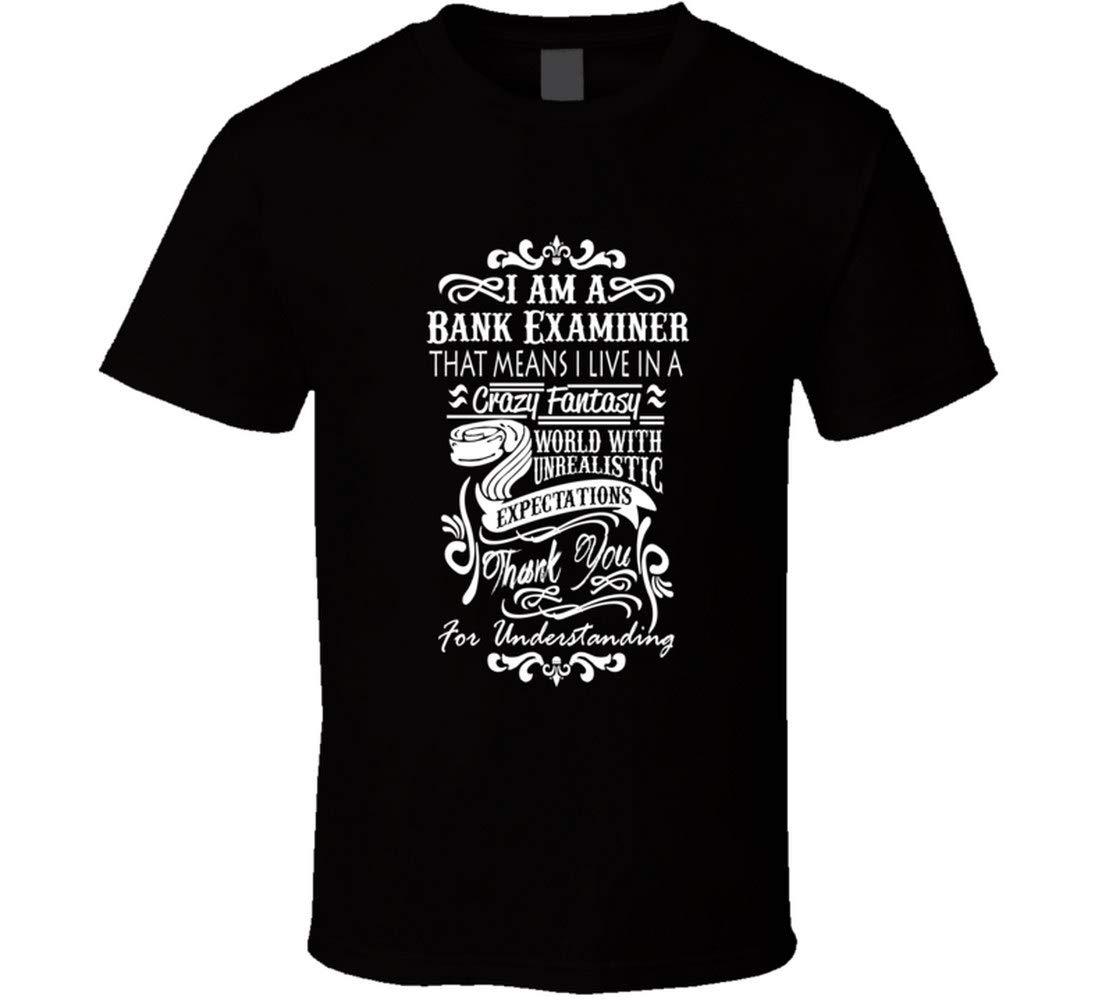Dhongmei Bank Examiner Job Title Employee T Shirt