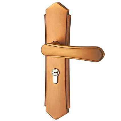 SMQ Cerradura de Puerta de Interior para baño para habitación para habitación con Cerradura de Puerta