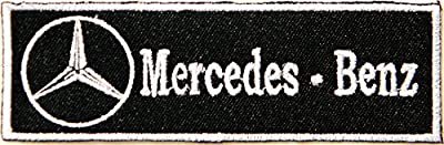Mercedes Benz Logo Sign Car Racing Patch Iron on Applique Embroidered T shirt Jacket BY SURAPAN