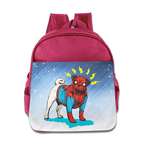 D2 Fashion Bat Dog Backpack For 3-6 Years Old Kids Pink Size One Size