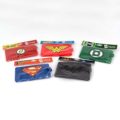 DC Comics Q-Tag Targhetta Valigia Bagaglio Green Lantern Quantum Mechanix Star Trek Gadgets