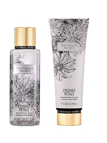 Victoria's Secret Fragrance Body Lotion & Body Mist Set (Crushed Petals)