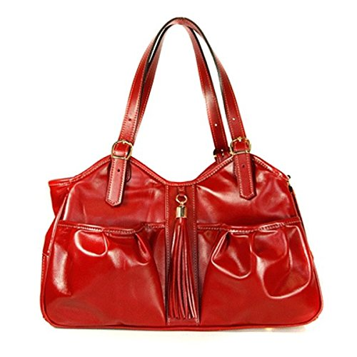 Petote Ruby Metro Couture with Tassel Pet Carrier Designer Handbag - ()