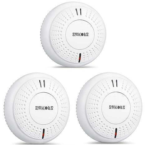 10er Set Rauchmelder Feuermelder DIN14604 85dB Brandmelder Melder Smoke Detector