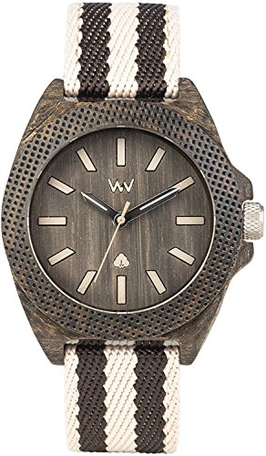 WEWOOD watch cotton fiber PHOENIX 38 WENGE GREY 9818138