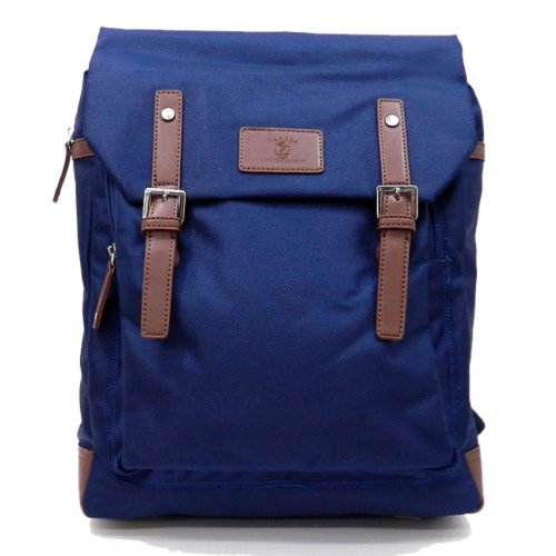M.A.R.S.E.A Urban Casual Sprit Slim Laptop Case Backpack - Choice of Colors (Navy)