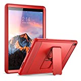 iPad Pro 9.7 Case, YOUMAKER Full-body Heavy Duty Protective Case with Kickstand and Built-in Screen Protector for Apple iPad Pro 9.7 inch (Red/Red)