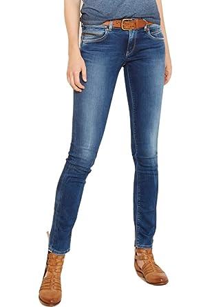 seleccione para el más nuevo pulcro mejor valor PEPE JEANS - Pantalon Vaquero Mujer Con Cremallera - Modelo ...