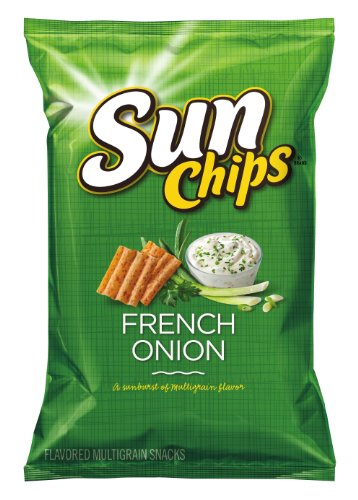 Sunchips Multigrain Snacks, French Onion Bag, 7 Ounce (4-Pack)