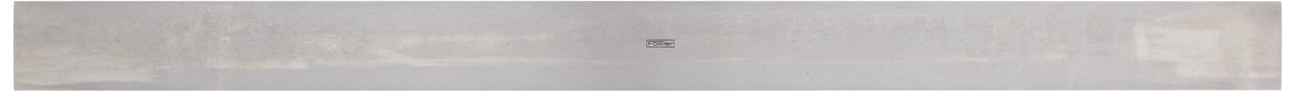 Fowler 52-480-050 Steel Straight Edges, 18'' L x 1.32'' W x .150'' Thick