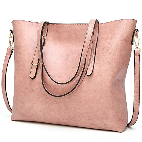 a TcIFE Designer Handbags Bags Pink Tote Shoulder for Ladies Satchel Womens ZvZxg6wqrA