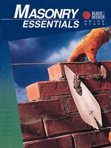 Masonry Essentials (Black & Decker Quick Steps)