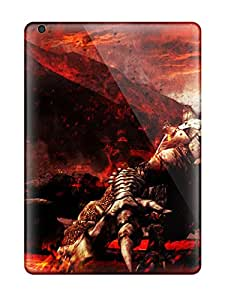 Protective Tpu Case With Fashion Design For Ipad Air (monster Hunter)