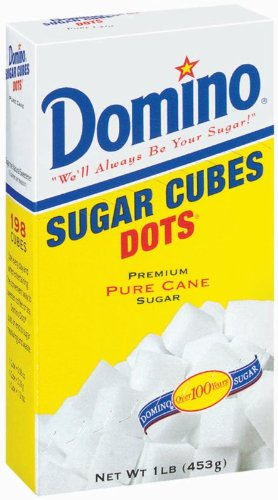 Domino Sugar, Cube Dots, 16-Ounce Boxes (Pack of 12)