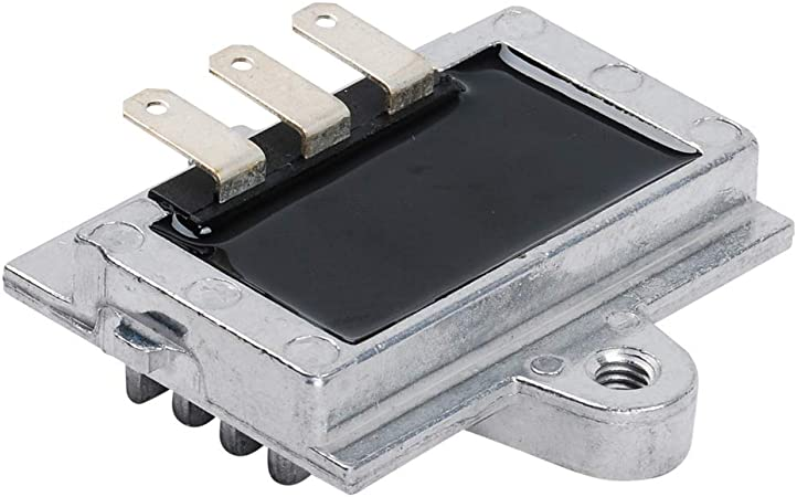 PARTSRUN New Rectifier Regulator Voltage Regulator for John Deere 318-420 Fits Onan Engine P216 P218 P220 P224 191-2227 191-1748 191-2106 191-2208,ZF618-ZLQ