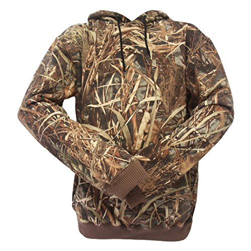(Wildfowler Outdoors Pullover Wild Tree Hooded Sweatshirt, 3X-Large)