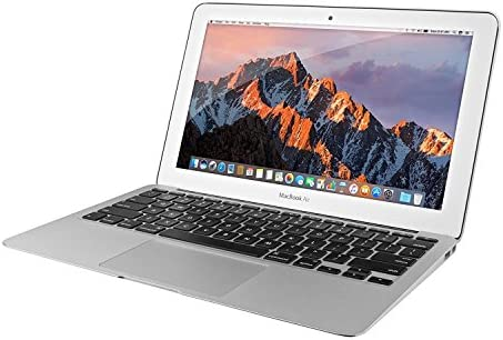 Apple MacBook Air MJVM2LL/A 11.6 Inch Laptop (Intel Core i5 Dual-Core 1.6GHz up to 2.7GHz, 4GB RAM, 128GB SSD, Wi-Fi, Bluetooth 4.0, Integrated Intel HD Graphics 6000, Mac OS) (Renewed) 51WVO9uwHML
