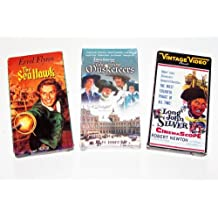 Vintage Classic Drama Collection (3 Pk): The Four Musketeers; the Sea Hawk, Long John Silver