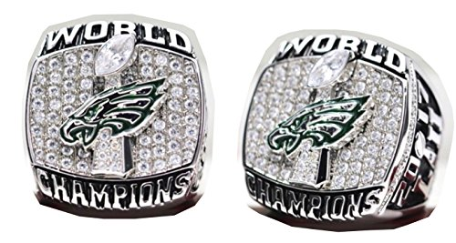2017 - 2018 Philadelphia Eagles Football Super Bowl World Championship Ring Commemorative Wentz (2018 Super Bowl Ring)