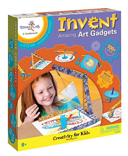 Creativity for Kids Spark!Lab Smithsonian Invent Amazing Art Gadgets -