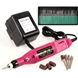 Hand-held Nail Electric Drill Set Variable Speed Manicure Pedicure Nail Drill File Bits Grinding Tool 3000-20000prm
