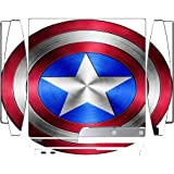 Captain America Shield Design Print Image Playstation 3 & PS3 Slim Vinyl Decal Sticker Skin by Trendy Accessories