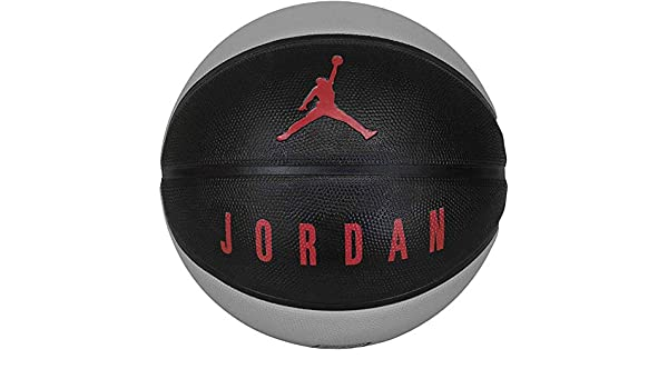 Nike Jordan 8 Panel Playground - Balón de Baloncesto, Negro/Gris ...
