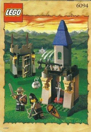 [해외] LEGO (레고) KNIGHTS KINGDOM GUARDED TREASURY,101 피스,6094 블럭 장난감 (병행수입)