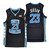 Michael 23 North Carolina Tar Heels College Stitched Basketball Jersey S-XXXL