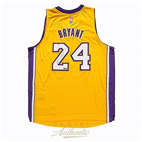 Kobe Bryant Autographed 2014 Adidas Gold Lakers Swingman Jersey ~Open Edition Item~