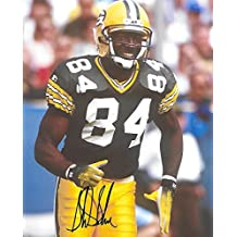 Sterling Sharpe, Green Bay Packers, Signed ,Autographed, 8x10 Football Photo, A Coa with the proof photo of Sterling signing will be included,,