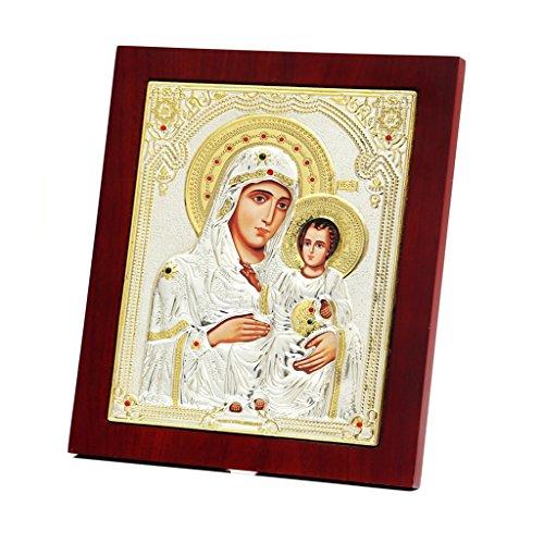 Virgin Mary Jesus Icon - 1