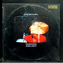 Joni Mitchell Shadows And Light 2 Lp Promo Vinyl Record