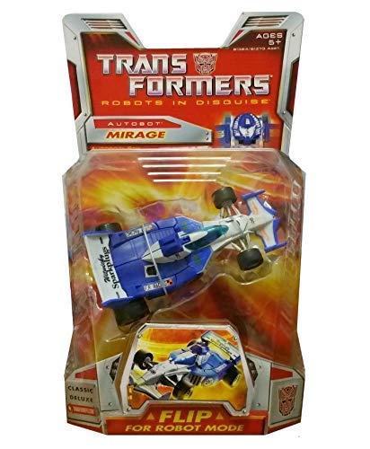 amazon com hasbro transformers deluxe classic mirage toys games