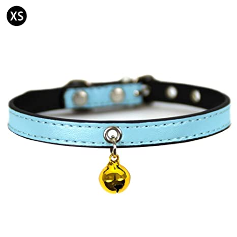 Jweal Pet Supplies Collar para Mascotas con cascabeles para Perros Gatos Collar – Collar Decorativo de