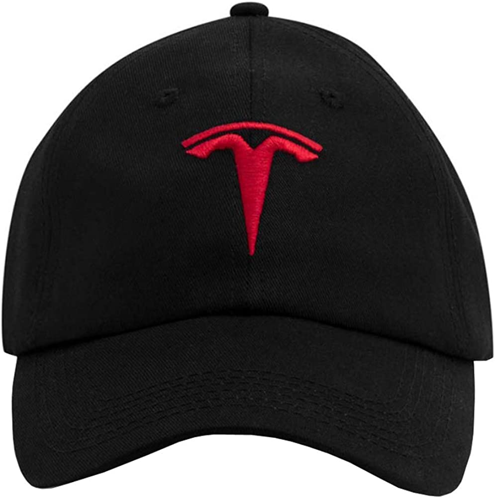 Trucket Hat Baseball Cap Car logo Tesla Embroidery For man women Snapback Cap