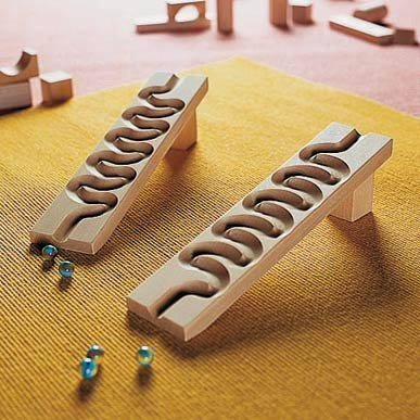 HABA Winding Track - Marble Ball Track Accessory (Made in Germany) by HABA